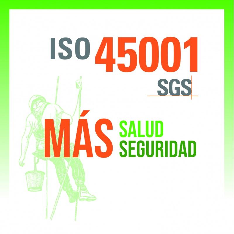 SISTEMA DE GESTIÓN DE SEGURIDAD Y SALUD EN EL TRABAJO:  CERTIFICADO ISO 45001
