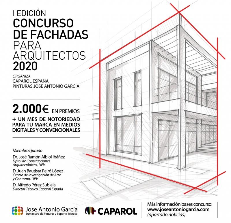 I EDICIÓN CONCURSO FACHADAS PARA ARQUITECTOS Y TÉCNICOS