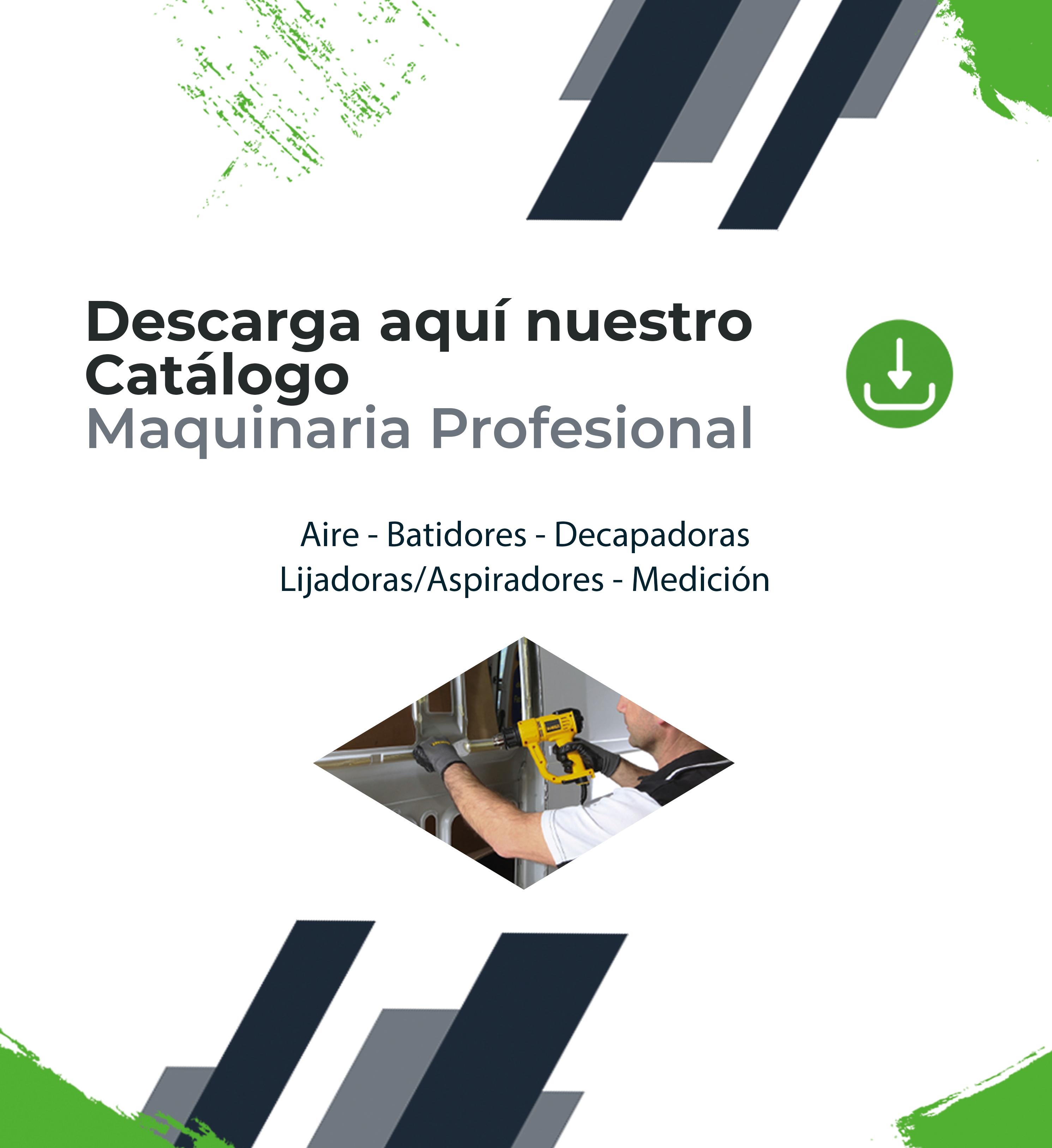 Catálogo maquinaria profesional