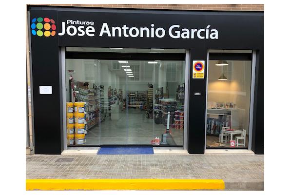 Pinturas Jose Antonio García, Tienda Alboraya.