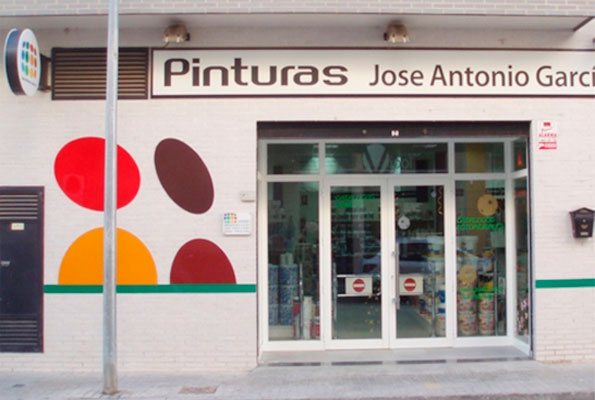Pinturas Jose Antonio García, Tienda Cheste.