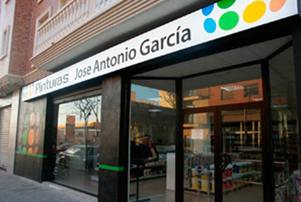 Pinturas Jose Antonio García, Tienda Paterna