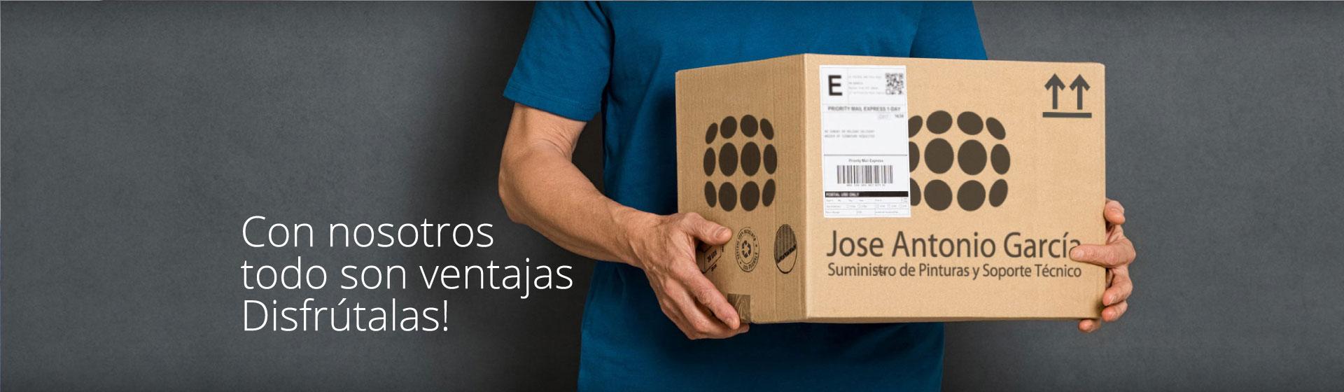 Servicios Jose Antonio García. Pintura y materiales auxiliares en la comunidad valenciana
