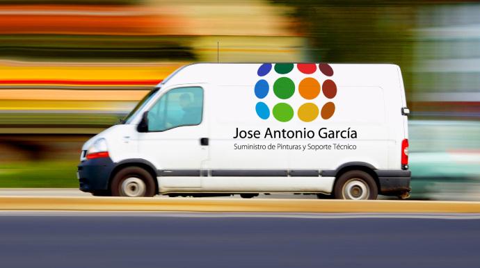 Pinturas Jose Antonio García. Transporte