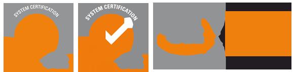 Pinturas Jose Antonio García. Certificados de calidad ISO 14001, 9001, 18001
