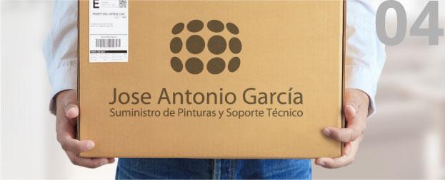 Pinturas Jose Antonio García. Venta a domicilio entrega en casa